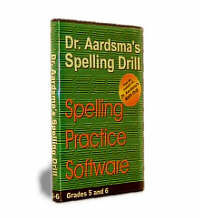 Dr Aardsma's Spelling Drill