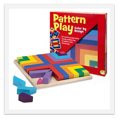 Pattern Play - Wooden Blocks