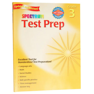 Spectrum Test Prep Grade 3