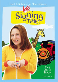 Signing Time! Volume 9 The Zoo Train