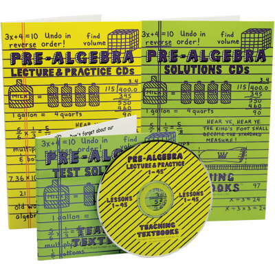 Teaching Textbook Pre-Algebra Complete Set