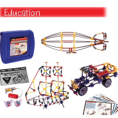 K'NEX Education Transportation Set