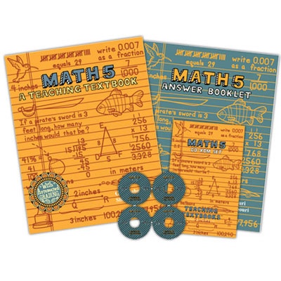 Teaching Textbook Math 5