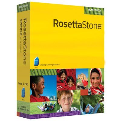 Rosetta Stone Homeschool Version