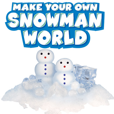 Make Your Own Snowman World Kit