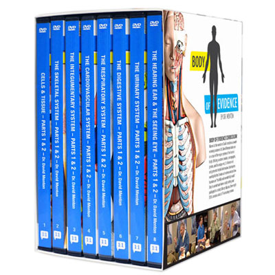 Body of Evidence Curriculum - Set of 8 DVDS