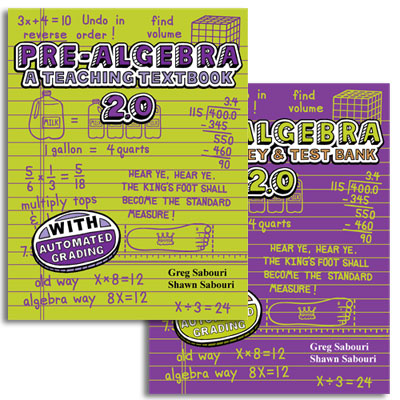 Teaching Textbook Pre-Algebra 2.0 Complete Set