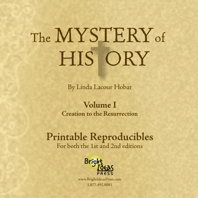 The Mystery of History: Reproducibles CD Volume 1