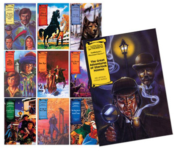 Classic Literature Graphic Novels Set of 10 Giveaway