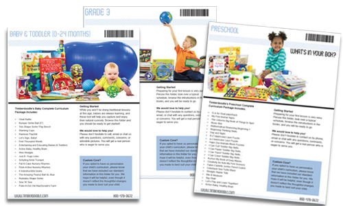 What Kind of Manuals are in Timberdoodle's Core Curriculum Kits?