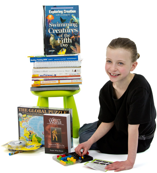 4th grade Homeschool Curriculum Kit Giveaway