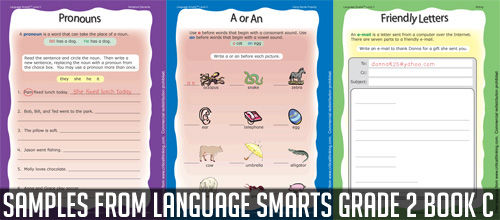 Language Smarts grade 2 Book C Giveaway
