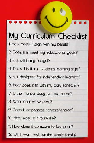 Choosing the Best Curriculum Kit