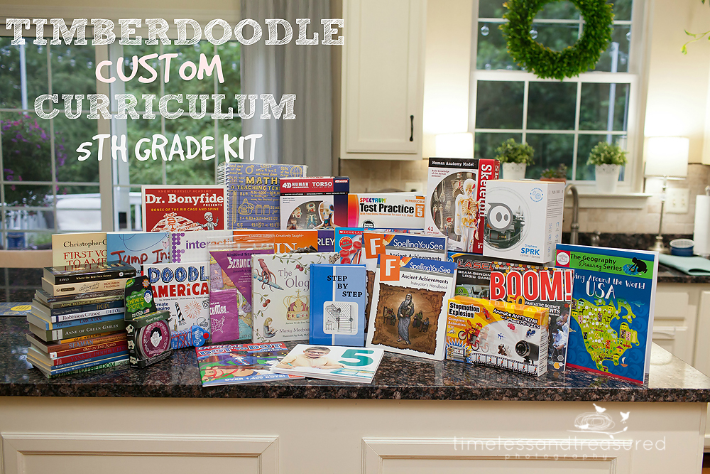 Timberdoodle custom kit review by timeless and treasured for Timberdoodle