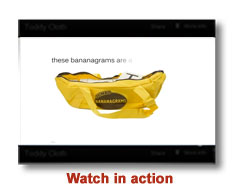 Jumbo Bananagrams Video