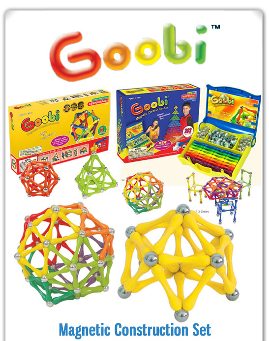 Goobi Magnetic Construction Set