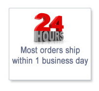 Orders ship within 24 hours